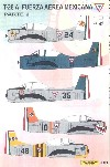 T-28 A TROYAN MEXICAN AIR FORCE -FAM -PARTE 2