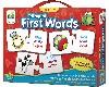 FIRST WORDS - PRIMERAS PALABRAS. INGLES-FRANCES-ESPAÑOL. JUEGO EDUCATIVO