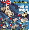 M1A1/ A2 ABRAMS TANK CON ESCENARIO Y EXHIBIDOR