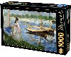 THE BANKS OF THE SEINE AT ARGENTEUIL, MANET  - PUZZLE - 1000 PIEZAS