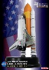 SPACE SHUTTLE DISCOVERY WITH SOLID ROCKET BOOSTER - PROYECT CUTAWAY - DISPLAY KIT. DRAGON