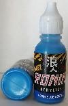 BLUE BEETLE - AZUL ESCARABAJO - RONIN FANTASY LINE - ACRILICO -