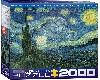 NOCHE ETRELLADA VAN GOHG 2000 PIEZA - PUZZLE - ROMPECABEZAS